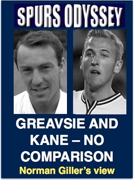 Greavsie and Kane - no comparison
