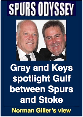 Gray and Keys spotlight gulf between Spurs and Stoke