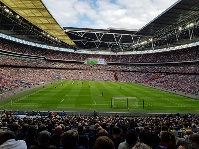 Spurs v Leicester at Wembley