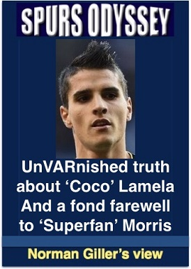 UnVARnished truth about Coco Lamela, and a fond farewell to Superfan Morris