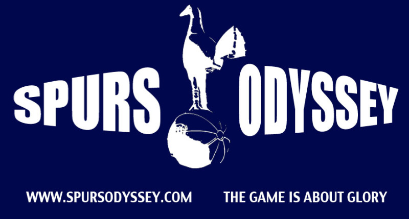 THFC would not allow me the fly the Spurs Odyssey flag in the stadium for these behind closed doors games but it will feature in my match report!