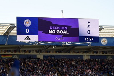 VAR at Leicester